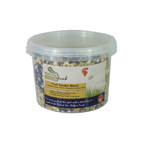 Natures Grub Fruit Garden Blend
