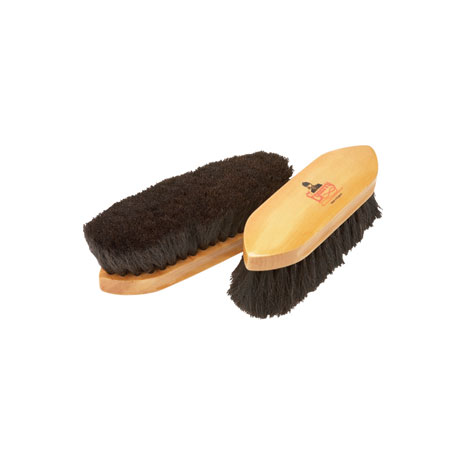 Equerry Wooden Dandy Brush - Horse Hair