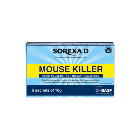 Sorexa D Mouse Killer