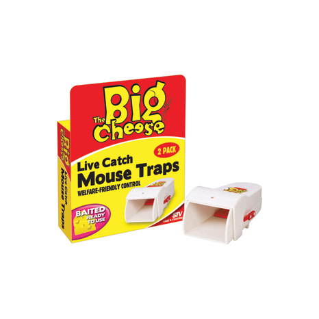 STV Live Catch Mouse Traps (STV155)