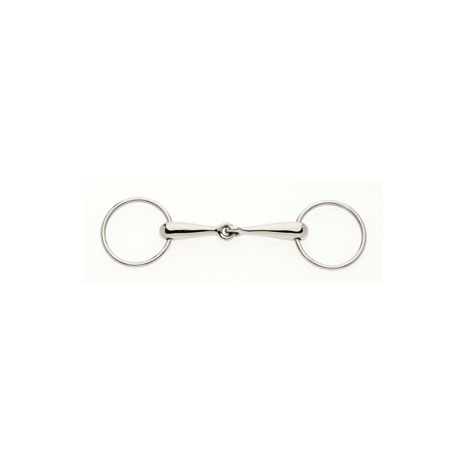 Thin German Hollow Mouth Loose Ring Snaffle