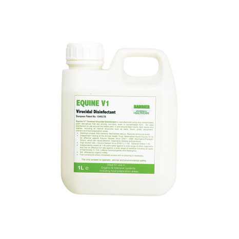 Barrier Equine V1 Virucidal Disinfectant