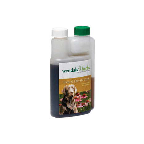 Wendals Dog Liquid Devils Claw Root