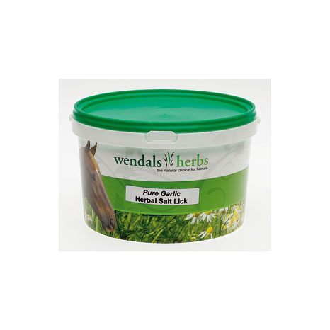 Wendals Pure Garlic Salt Lick