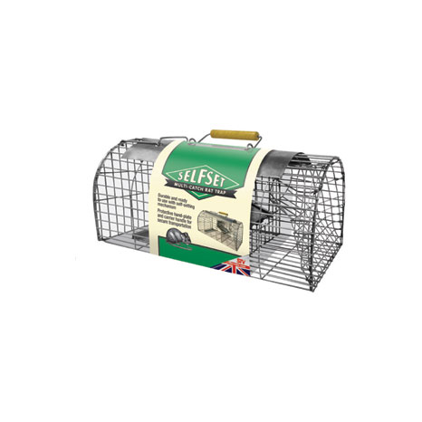 STV Self Set Multi-Catch Rat Trap (TVS080)