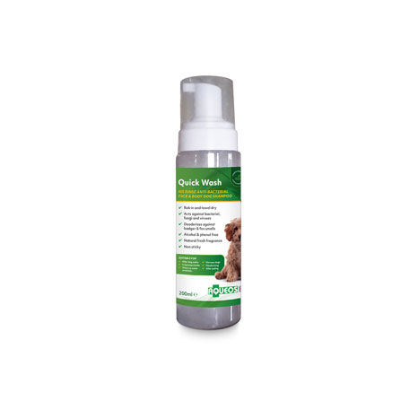 Aqueos Quick Wash No Rinse Dog Shampoo